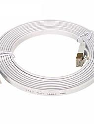 Недорогие -сетевой кабель cat7 сетевой кабель плоский кабель патч шнур 3м