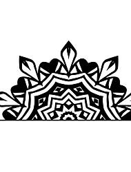 Недорогие -yqt016 сделай сам горячие продажи лотоса медитация будда намасте мандала искусства изголовье наклейки стикер interio спальня гостиная прикроватная наклейка украшения дома
