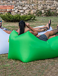 Недорогие -Надувной диван Надувной матрас Надувной стул Дизайн-идеальный диван На открытом воздухе Походы Водонепроницаемость Компактность Влагонепроницаемый Оксфорд 260*70 cm Отдых и Туризм Пляж Путешествия