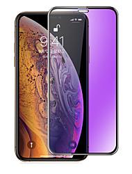 Недорогие -AppleScreen ProtectoriPhone XS Фильтр синего света Защитная пленка для экрана 1 ед. Закаленное стекло