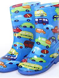 halpa -Tyttöjen Kengät PVC Kesä Comfort / Kumisaappaat Bootsit varten Lapset Keltainen / Pinkki / Vaalean sininen / Säärisaappaat