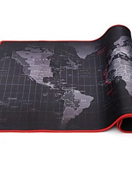 Недорогие -30 * 60 * 2 см очень большой коврик для мыши карта старого мира игровой коврик для мыши противоскользящий натуральный каучук игровой коврик для мыши с фиксатором края