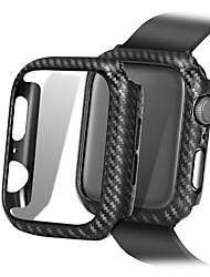 Недорогие -ультратонкие линии из углеродного волокна защитный корпус для Apple Watch серии 4 3 2 1