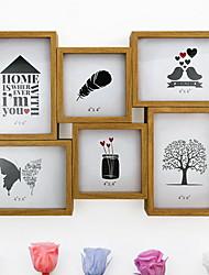 Недорогие -Современный Специальный материал Зеркальное Рамки для картин, 1шт