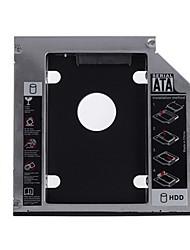 Недорогие -Алюминиевый жесткий диск SATA 12,7 мм для ноутбука