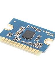 Недорогие -20 Вт + 20 Вт класс d цифровой усилитель мощности платы 12v-24v мини-модуль усилителя