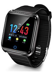 Недорогие -D28 умные часы мужчины ip68 водонепроницаемый секундомер монитор сердечного ритма фитнес-трекер кровяное давление спорт smartwatch