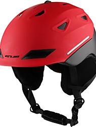 Недорогие -Лыжный шлем Муж. Жен. Сноубординг Лыжи Ударопрочный Тепловая / Теплый ESP+PC CE