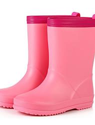 billige -Pige Gummi Støvler Små børn (4-7 år) / Store børn (7 år +) Gummistøvler Gul / Blå / Lys pink Forår / Støvletter