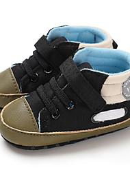 olcso -Lány Vászon Csizmák Csecsemők (0-9m) / Tipegő (9m-4ys) Első cipő Fekete / Szürke / Kávé Ősz / Tél