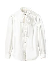 olcso -Női Ing - Egyszínű Fehér US10