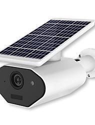 Недорогие -1080p 18650 батарея разряженная батарея солнечная панель wifi ip камера