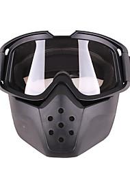 Недорогие -уникальные очки для очков для мотокросса маска для лица с отстегивающим фильтром для рта мотоцикла