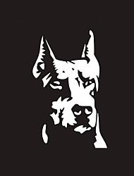 Недорогие -светоотражающая собака шаблон наклейка автомобиль стикер мотоцикл электрические украшения