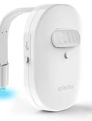 Недорогие -1шт Ночные светильники / Туалетный свет / Умный ночной свет Поменять Аккумуляторы AAA Водонепроницаемый / светодиодов / Меняет цвета Батарея / 5 V