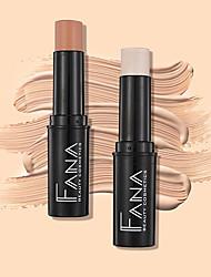 abordables -De Un Color 1 pcs Seco Corrector / Iluminador Adulto China Moda Mujer Fiesta de Boda / Ropa Cotidiana Maquillaje Cosmético