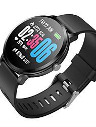 Недорогие -умные часы v11 1,3-дюймовый 240 * 240 закаленное стекло экрана ip67 водонепроницаемый мониторинг сердечного ритма кровяное давление