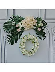 Недорогие -Лепестки деревянный 1 комплект Свадьба
