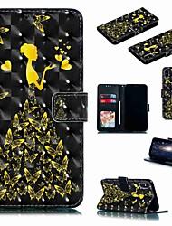 Недорогие -чехол для яблока iphone xr / iphone xs max flip / с подставкой / противоударный чехол для всего тела сексуальная дама / бабочка из твердой кожи для iphone 6 / 6s plus / 7/8 plus / xs / x