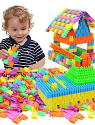 Недорогие -Взаимосоединяющиеся блоки Ракеты и космические корабли Машинки Формулы 1 Геометрический узор Ручная работа Взаимодействие родителей и детей Креатив Пирамида Универсальная Китайский дизайн
