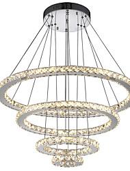 Недорогие -светодиодные хрустальные люстры современные подвесные светильники комнатные светильники подвесные потолочные светильники подвесные светильники cristal светильники для гостиной отель 110-120v /