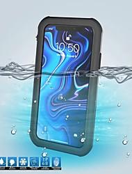 baratos -caso para apple iphone xr / iphone xs max resistente à água casos de corpo inteiro sólido colorido plástico rígido para iphone xs / iphone xr / iphone xs max