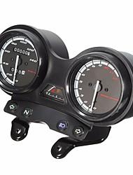 Недорогие -DC 12v мотоцикл полный часы спидометр для Yamaha YBR 125