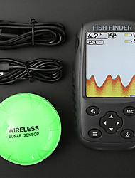 Недорогие -Радара 1 pcs 152.4 mm ЖК-дисплей 0.6-73 m Беспроводной Беспроводной Перезаряжаемая Обычная рыбалка