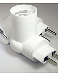 preiswerte -1pc EU bis E14 E14 90-250 V Infrarot-Sensor Kunststoff Glühbirnenfassung