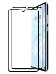 Недорогие -защитная пленка для закаленного стекла huawei huawei p30 2 шт. передняя защитная пленка высокого разрешения (HD) / твердость 9 ч