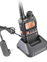 Недорогие -BAOFENG UV-3R Для ношения в руке Водонепроницаемость 3 - 5 км 3 - 5 км Walkie Talkie Двухстороннее радио