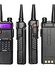 Недорогие -BAOFENG Аналоговая Yведомление O Hизком заряде батареи / С программным управлением через ПК / Функция сохранения энергии 5 - 10 км 5 - 10 км 3800 mAh 5 W Walkie Talkie Двухстороннее радио