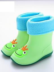 billige -Drenge / Pige Syntetisk Støvler Toddler (9m-4ys) Gummistøvler Lys pink / Lyseblå / Lys Grøn Efterår
