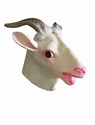 Недорогие -Маски на Хэллоуин Животная маска клей Овечья шерсть Ужасы Взрослые Универсальные Мальчики Девочки