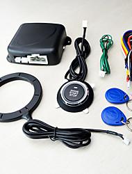 Недорогие -12v универсальный иммобилайзер смарт-ключ RFID автосигнализация кнопка запуска без ключа транспондера