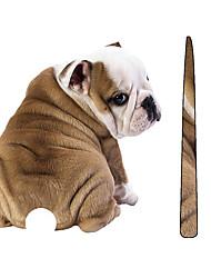 Недорогие -смешно вилять хвостом шар пей собака наклейки наклейки кузова автомобиля царапины стикер украшения