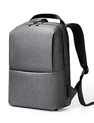 Недорогие -Meizu 15,6-дюймовый ноутбук пригородных рюкзаков искусственная кожа / полиуретановая кожа сплошной цвет / простой для мужчин для бизнеса офис унисекс водонепроницаемый