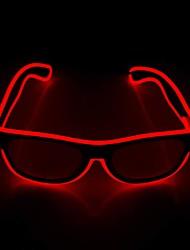 Недорогие -Brelong светящиеся светодиодные очки роман светящиеся очки регулируемые el line неоновые очки праздничные украшения