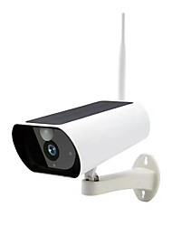 Недорогие -Солнечная камера Wi-Fi 2 миллиона открытый TD-S2-200 Вт 2 МП IP-камера открытый поддержка 64 ГБ