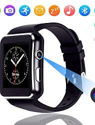 Недорогие -x6 сенсорный экран умные часы с камерой умные часы мужчины поддерживают sim tf bluetooth smartwatch lift водонепроницаемый для iphone android