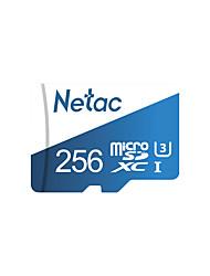 Недорогие -Netac 256GB Микро SD / TF Карта памяти UHS-I U3 100MB/s Фотоаппарат