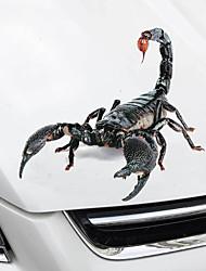 Недорогие -Автомобильные наклейки Юмор Дверные наклейки / Наклейки на зеркало заднего вида / Наклейки для крышки топливного бака Не указано 3D-наклейки