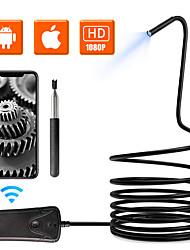 Недорогие -5.5 мм 1080phd Wi-Fi осмотр камеры 10 м длина Wi-Fi бороскоп с 6 светодиодными огнями водонепроницаемый эндоскоп для Android IOS Iphone Iphone Huawei