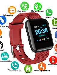 Недорогие -D13S Мужчины Смарт Часы Android iOS Bluetooth Водонепроницаемый Сенсорный экран Пульсомер Измерение кровяного давления Спорт
