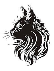 Недорогие -Мода домашняя кошка тотем царапин наклейки наклейки автомобиля всего стикер стайлинга автомобилей