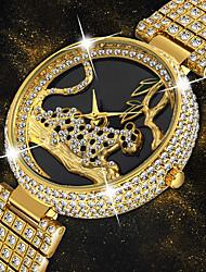 preiswerte -Damen Quartz Uhr Freizeit Modisch Silber Gold Edelstahl Chinesisch Quartz Gold Silber Hellgold Neues Design Armbanduhren für den Alltag 1 Stück Analog Ein Jahr Batterielebensdauer