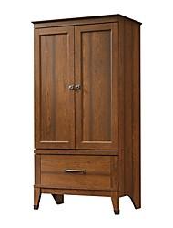 Недорогие -шкаф для спальни шкаф для хранения шкаф с отделкой из коричневого дерева