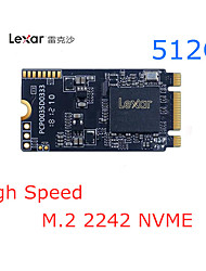 halpa -Lexar 512GB M.2 (NVMe) Lexar 512G SSD Solid State Drive Laptop Hard Drive M.2 Interface NVME Protocol 2242