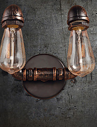 Недорогие -труба Винтаж Кабинет / Офис / кафе Металл настенный светильник 110-120Вольт / 220-240Вольт 40 W