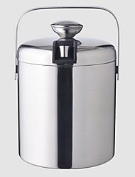 Недорогие -2pcs Нержавеющая сталь Ведерки для льда и охладители для вина Винные аксессуары Классический Многофункциональные Вино Аксессуары для Barware
